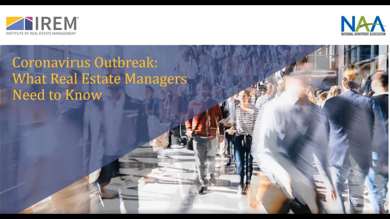 Coronavirus Outbreak: What Real Estate Managers Need to Know