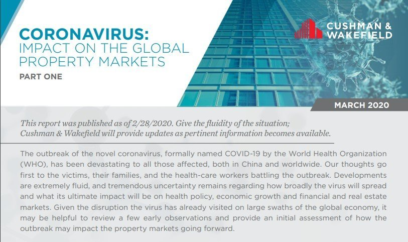 Coronavirus: Impact on the Global Property Markets